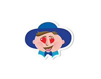 Mr. Rolf (character design & emoticons)