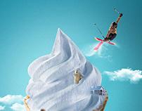 Ice cream manipulation ads