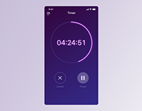 Daily UI Day #14: Timer