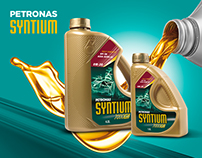 Petronas Syntium vehicle dress-up