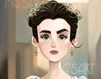 Fantine - Lily Collins