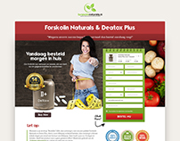 Weight Loss Product Website Mockup
