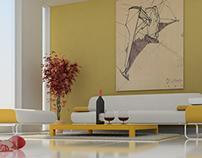 Projeto Interior - Modelagem + Render + Pós