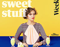 Cover Shoot : Guardian Weekend by Ilka & Franz