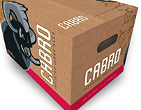 Cabro beer:: labeling and packaging