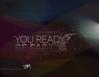 You Ready? Be Fast. Motorcycle Racing Banner Design
