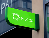 Milcos. Corporate identity for dairy producer