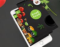 Fresh Food - Apps Design