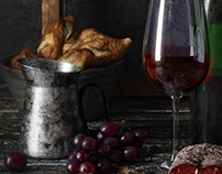 Wine, still life
