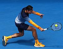 milos raonic 2016 australian open kit