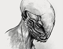 Bonehead - Concept Sketch
