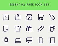 Essential Free Icon Set