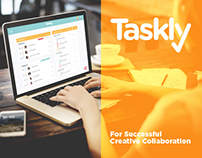 Taskly Project Management App - Portfolio