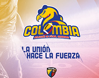 Logo Seleccion Colombia de Futbol Americano SCFA