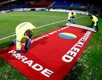 Football PR stunt