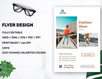 Simple Fashion Flyer Design
