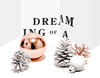 Dreaming of a - Christmas Card