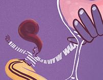 Vindi's illustrated wine moments