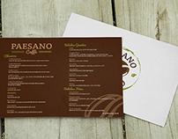 Carta de cafés/Coffee menu