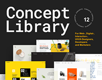 Concept Library for Sketch and Photoshop