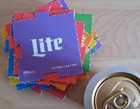 Miller Lite Pride Coasters
