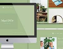website design - Mari D'or