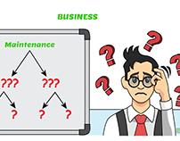 Whiteboard Animation for business app called SideGig