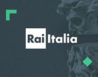 Rai Italia / Piezas gráficas