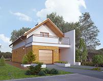 Projekt domu Koliber 3
