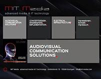 Website für MIT Media