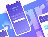 CodObject App UI/UX design