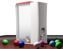XBOX360 Candy machine