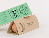 Eggscetra - an egg packaging