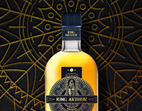 King Arthur whiskey label
