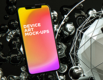 Apple Device Art MockUps Vol.1 DOWNLOAD!