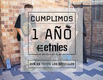 Etnies 1 año de Tienda Online - Etnies Argentina