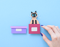A Cat`s Life | Stop motion animation