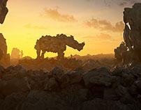 Rocks Rhino 3D