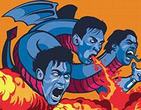 ESPN - Three Headed Monster of Barcelona FC