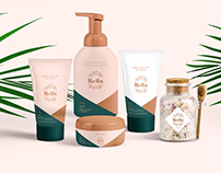 Cosmetic branding and package design
