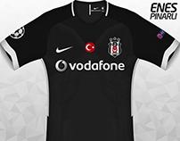 Beşiktaş   Nike   17-18 Away Design