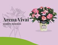 Arena Vivai - Website Redesign