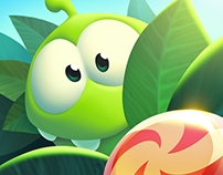Where's Om Nom Concepts, Art & Video!