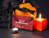 Halloween Card Mock-up