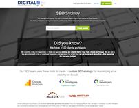 SEO Sydney Page for Digital Marketing Shop