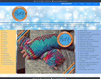 Diseño web y construcción de marca Hot Ice Ropa