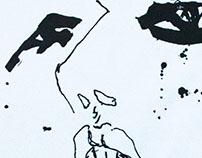 Ecstasy – linocut