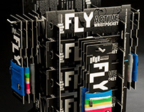 Fly Active store display