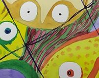 Ilustración infantil - Pinoccio