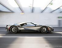 Automotive 3D scenery